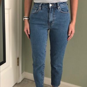 Pacsun Medium Wash Mom Jeans